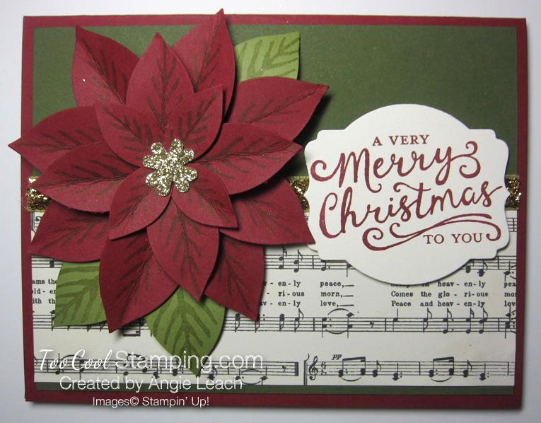 Festive poinsettia - music