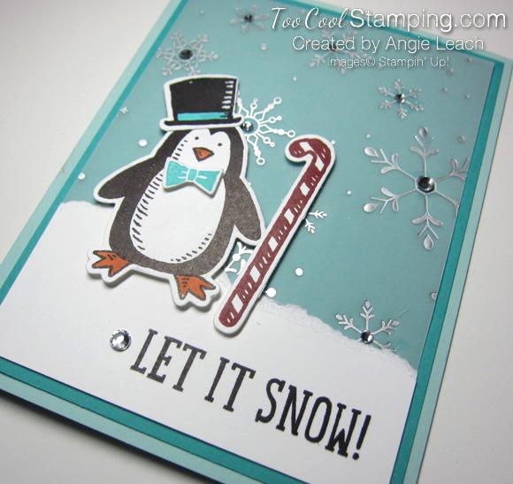 Snow place let it snow - penquin 3