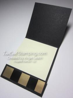 Matchbook notes - black cracked 4