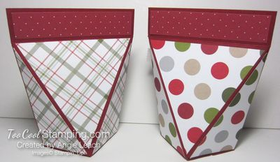 Snap close treat boxes - two backs