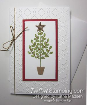 Kathe - lighthearted tree note card