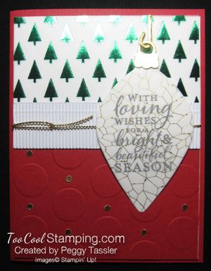Peggy tassler - vellum ornament