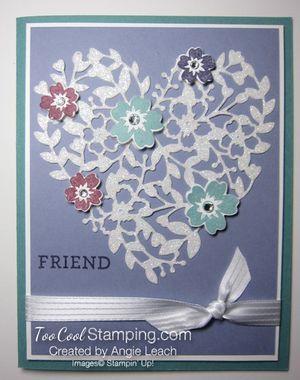 Bloomin' heart dazzle - wisteria