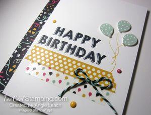 Party wishes washi - v4
