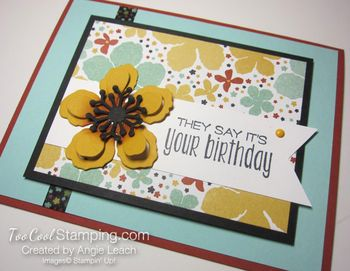 Botanical blooms - birthday 3