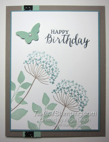 Summer silhouettes - birthday copy