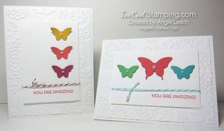 Amazing Butterfly Trio - two cool
