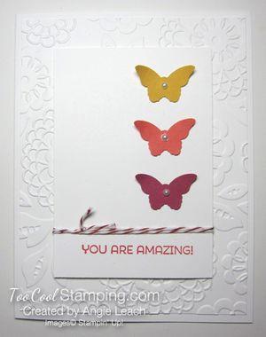 Amazing Butterfly Trio - warm