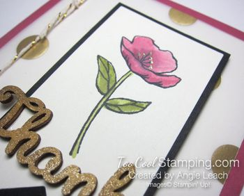 Gold elements - rose thanks2