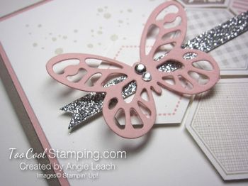 Hexagon butterfly - blushing3