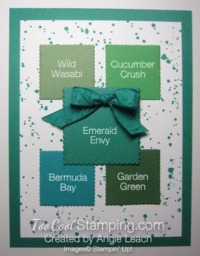 Emerald Envy - swatches
