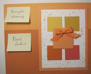 Peekaboo Peach - marigold parfai