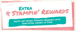June stampin rewards banner