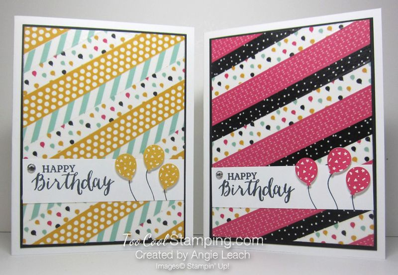 Washi tape party - two cool