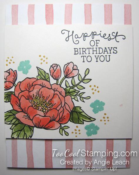 Wc birthday blooms - blush v