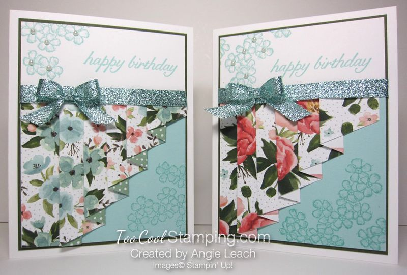 Birthday bouquet drapery - two cool