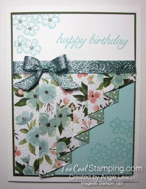 Birthday bouquet drapery - pool