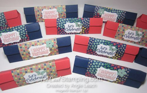 Affectionately Yours Triangle Boxes - ensemble