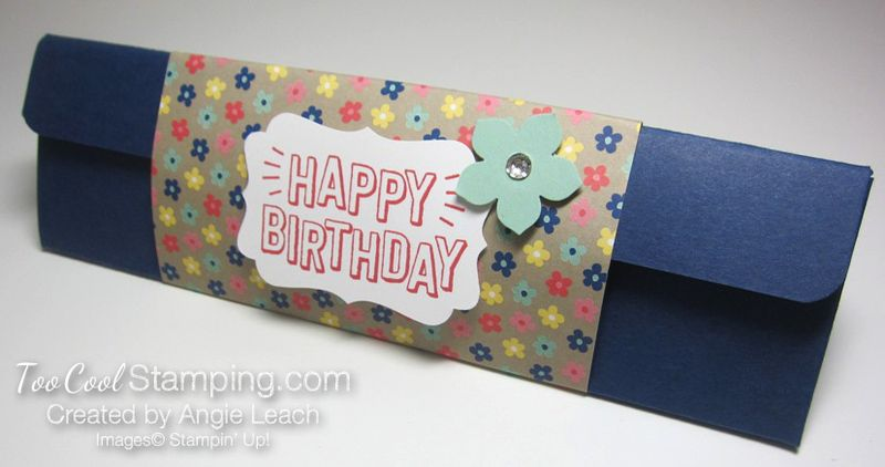 Affectionately Yours Triangle Boxes - navy