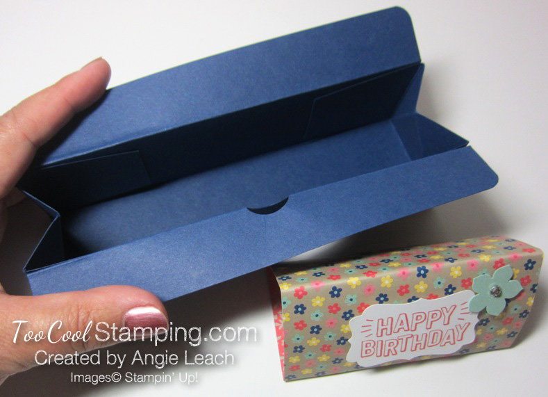 Affectionately Yours Triangle Boxes - navy 5