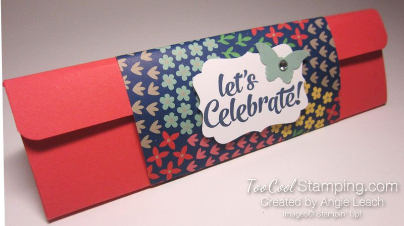 Affectionately Yours Triangle Boxes - watermelon