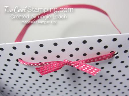 Pink love bag handle