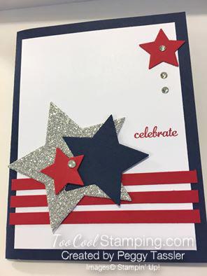 Peggy's patriotic card