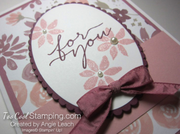 Blooms wishes tunnel card - sugarplum2