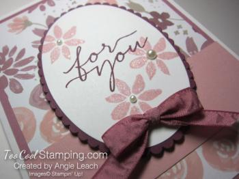Blooms wishes tunnel card - sugarplum2