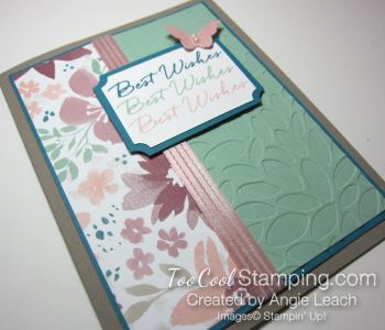 Blooms & wishes shimmery - mint3