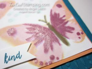 Watercolor wings spritz - indigo 3