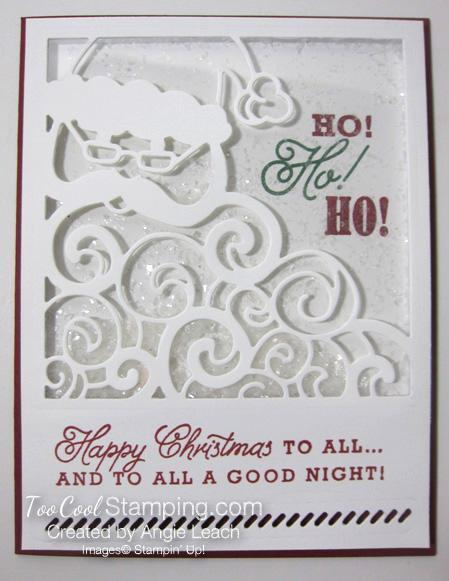 Greetings from santa - shaker