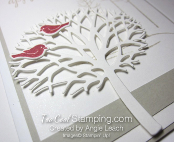 Thoughtful branches winter tree - v3