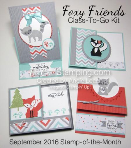 Foxy friends - class banner 2