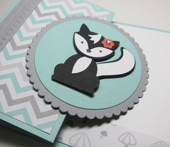 Foxy friends - skunk 2