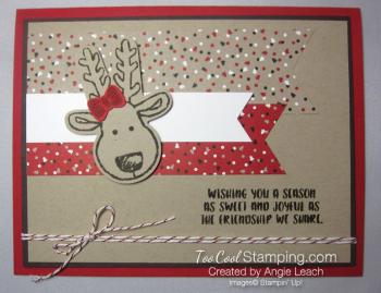 Cookie cutter christmas reindeer a - 1