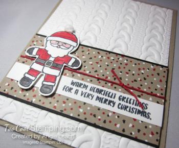 Cookie cutter christmas santa a - 3