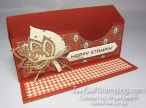 Paisleys business card holder 2