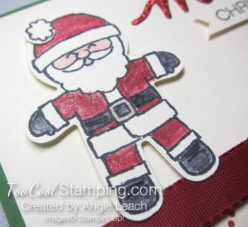 Merry santa - red 3