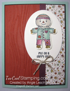 Cookie cutter halloween scarecrow - cajun 1