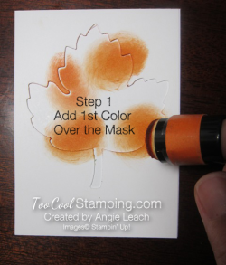 Masking steps 001