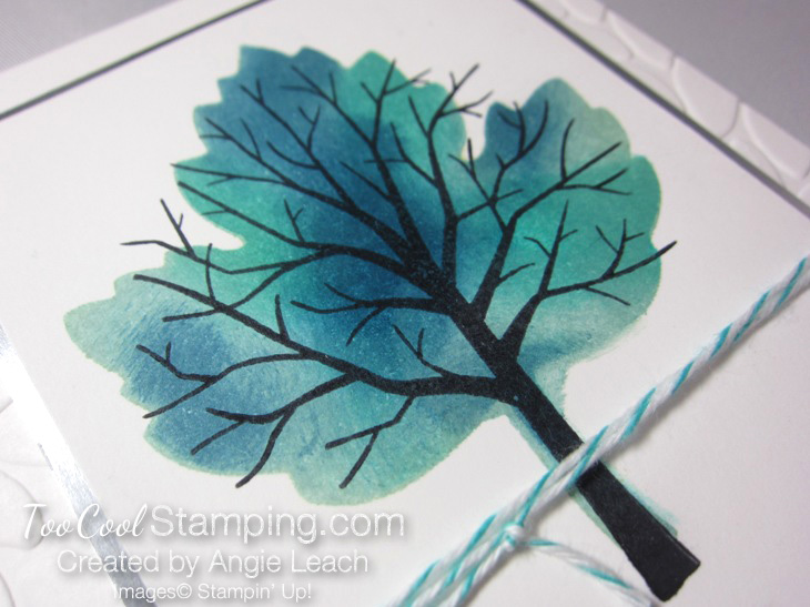 Sponged maple tree - thinking 2