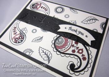 Amy - paisleys card 2