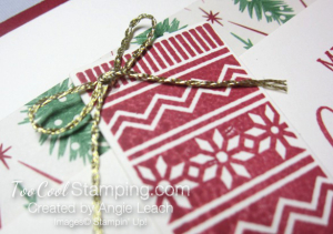 Hang your stocking traditional - red 3