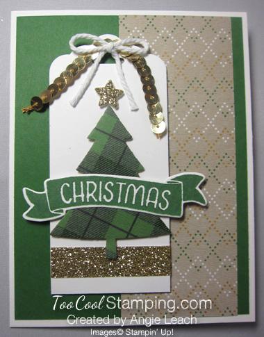 Warmth & cheer christmas pine - straight