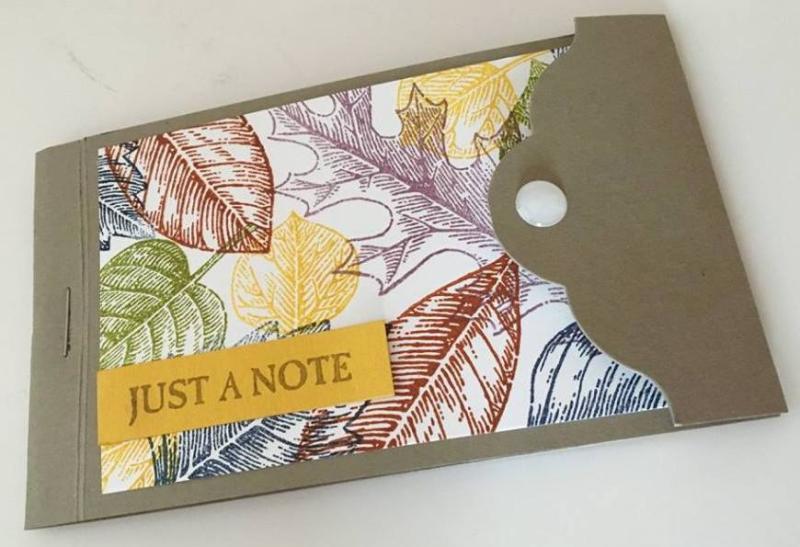 Vintage Leaf Notebook - Loni Spendlove