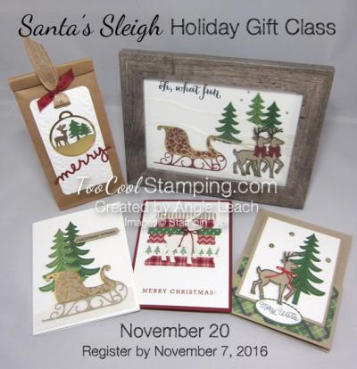 Santa's Sleigh Class - ensemble banner watermark