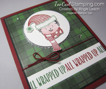 Jolly friends elf - green plaid 2