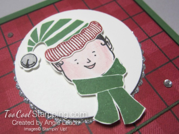 Jolly friends elf - red plaid 4