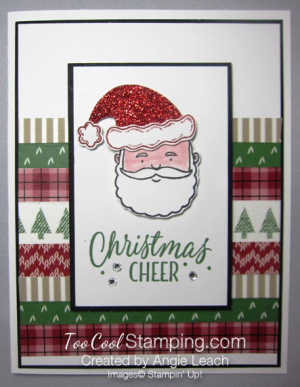 Jolly santa cheer - stripes